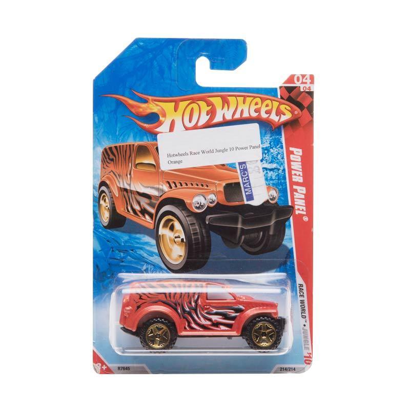 Hotwheels Race World Jungle 10 Power Panel Orange Diecast