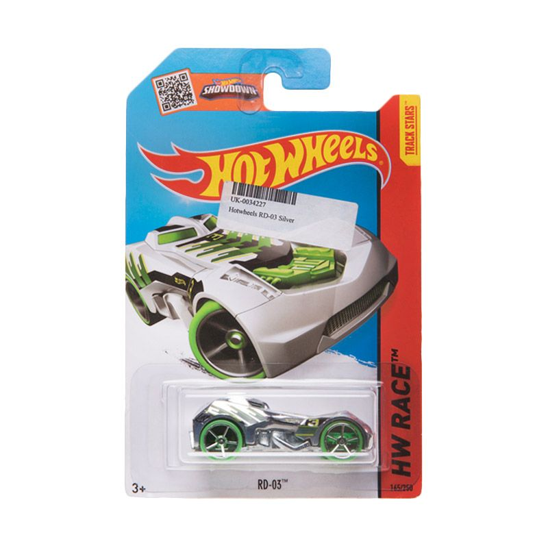 Hotwheels RD-03 Silver Diecast