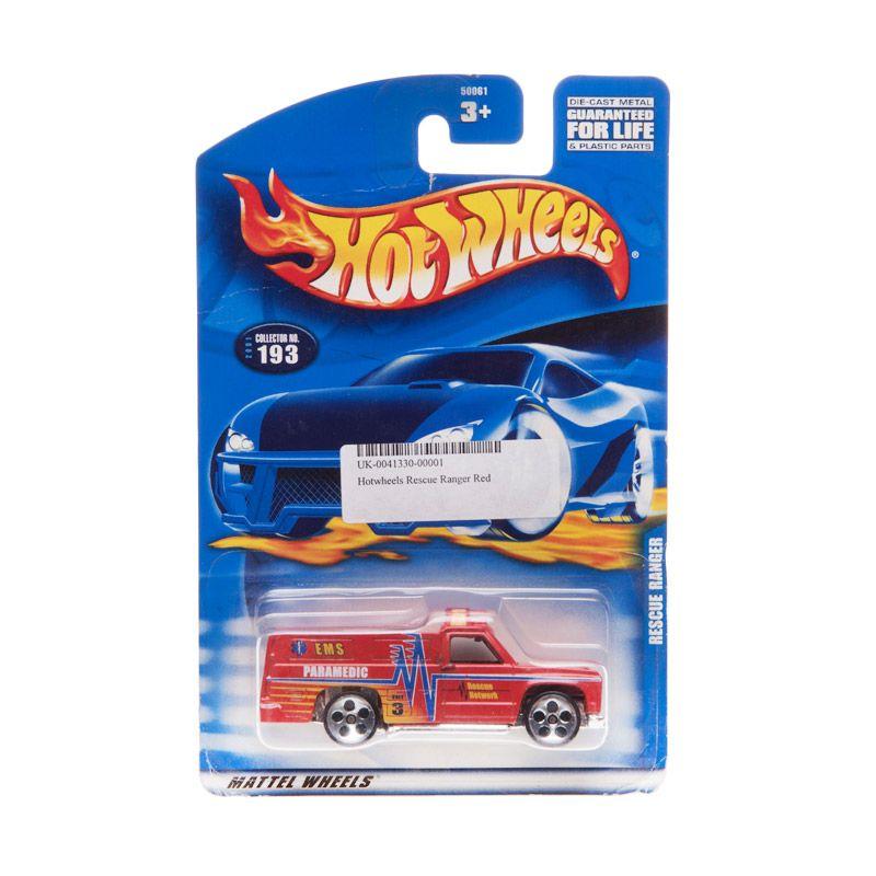 Hotwheels Rescue Ranger Red Diecast