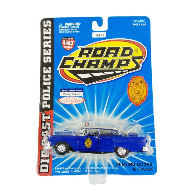 Hotwheels Road Champs Kansas State Highway Patrol Ford Diecast [1:43]