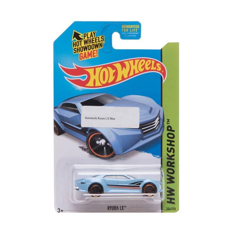 Hotwheels Ryura LX Blue Diecast