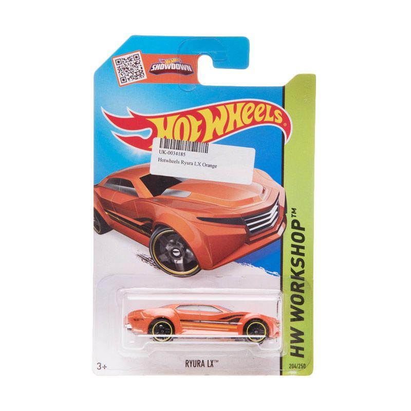Hotwheels Ryura LX Orange Diecast