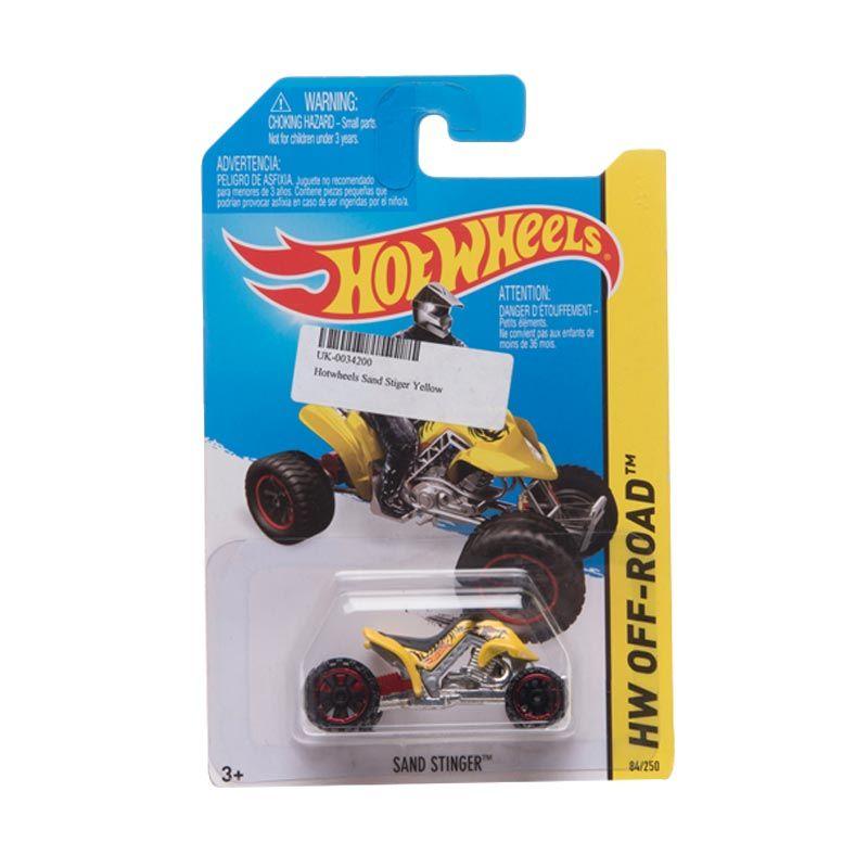 Hotwheels Sand Stiger Yellow Diecast