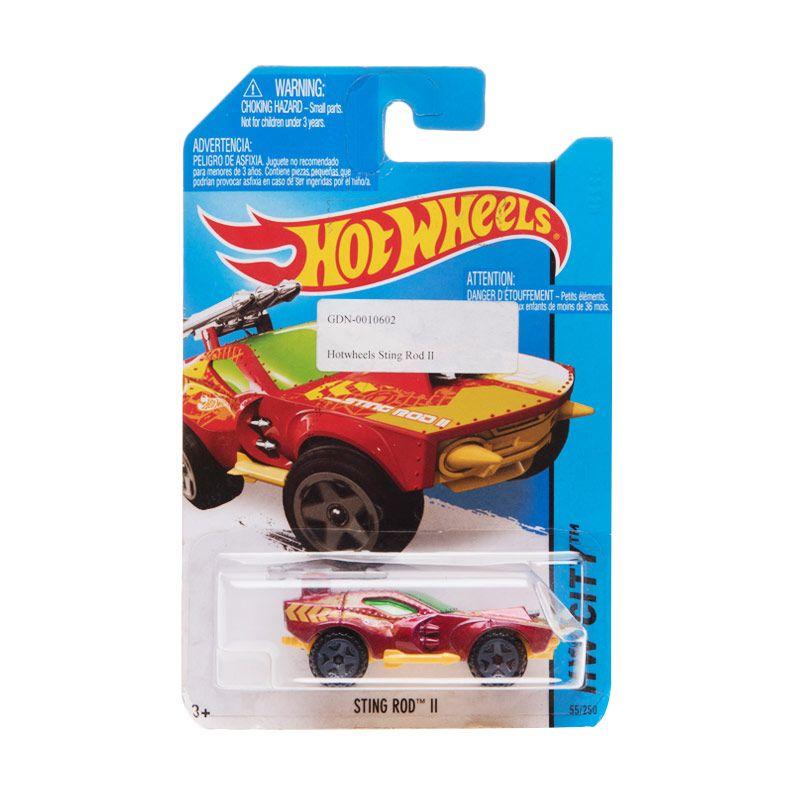 Hotwheels Sting Rod II - 2 Maroon Diecast