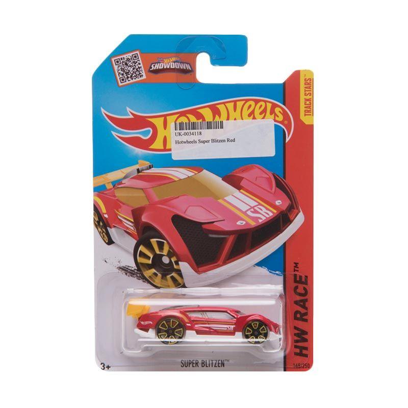 Hotwheels Super Blitzen Red Diecast