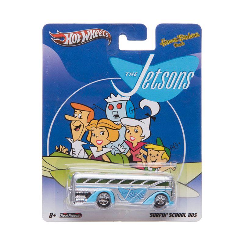 Hotwheels Surfin School Bus The Jetsons Diecast