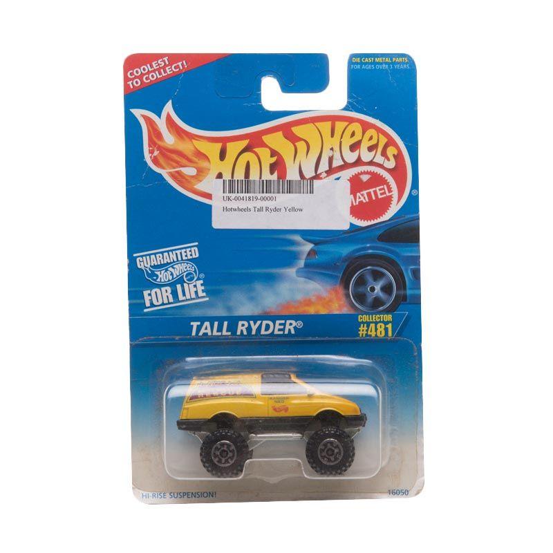 Hotwheels Tall Ryder Yellow Diecast
