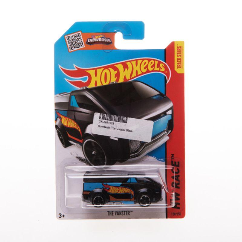 Hotwheels The Vanster Black Diecast
