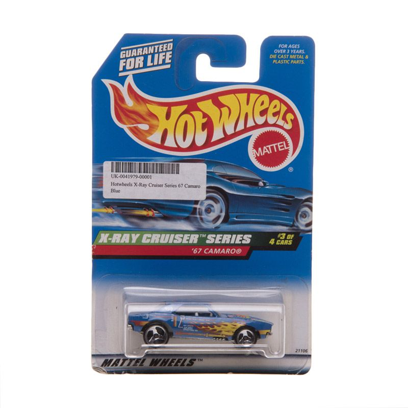 Hotwheels X-Ray Cruiser Series 67 Camaro Blue Diecast