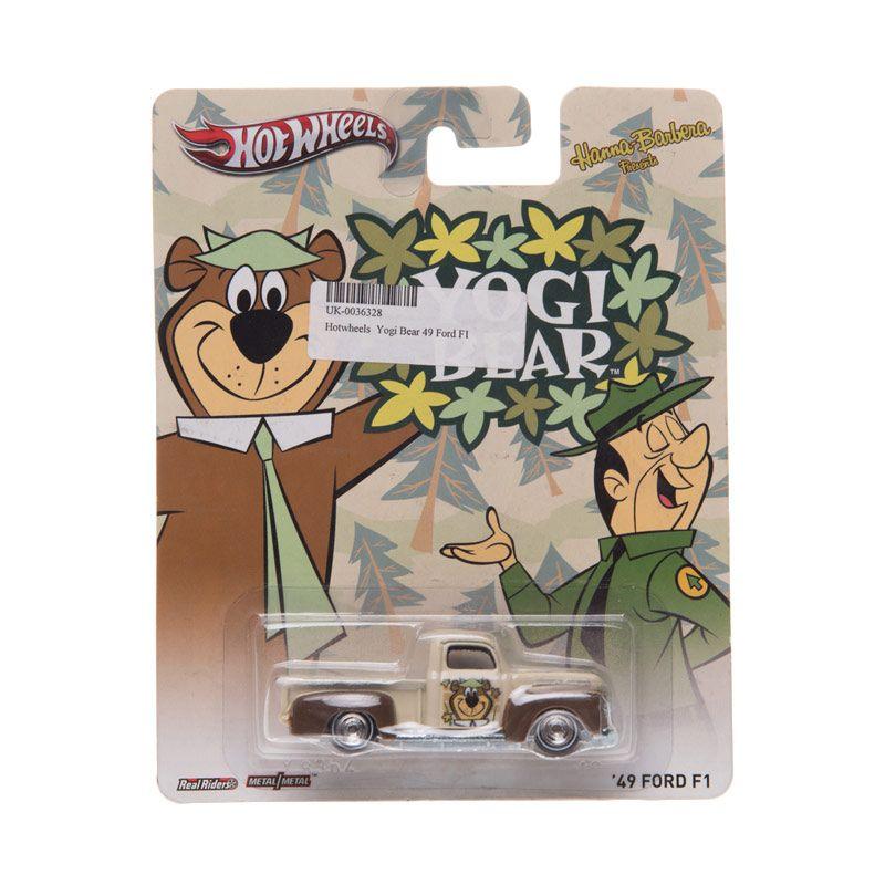 Hotwheels Yogi Bear 49 Ford F1 Diecast