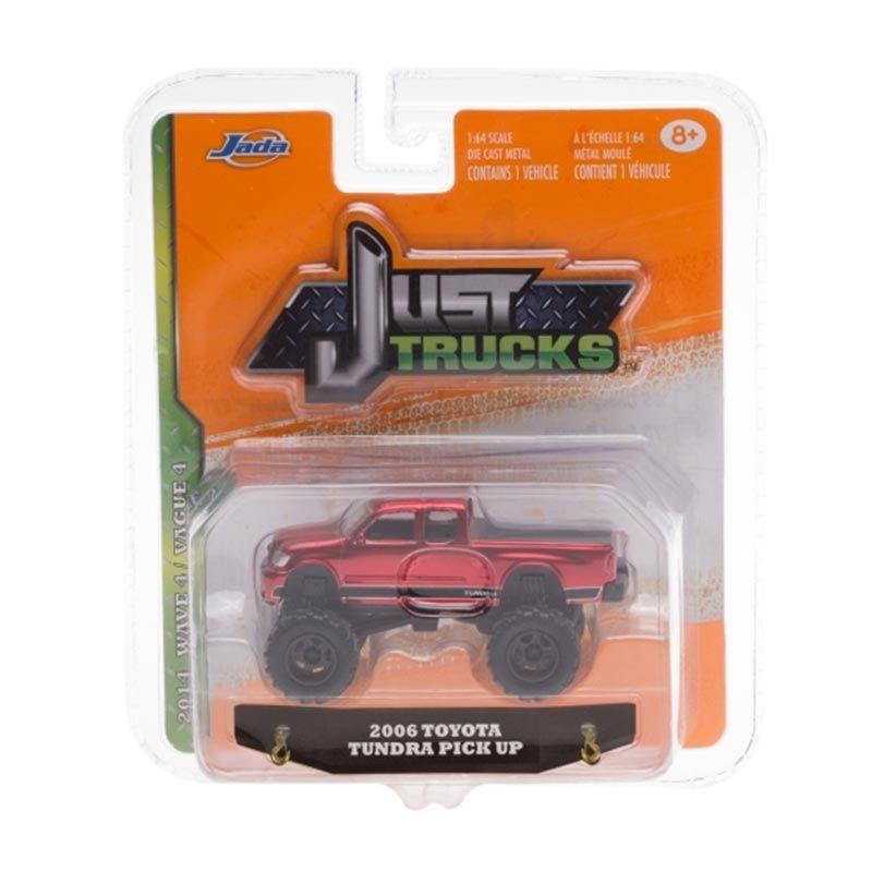 Jada Just Trucks 2006 Toyota Tundra Pick Up Red Diecast