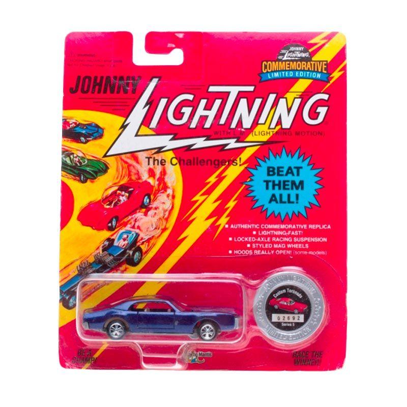 Johnny Lightning Commemorative Limited Edition Series 5 Custom Toronado Blue Diecast