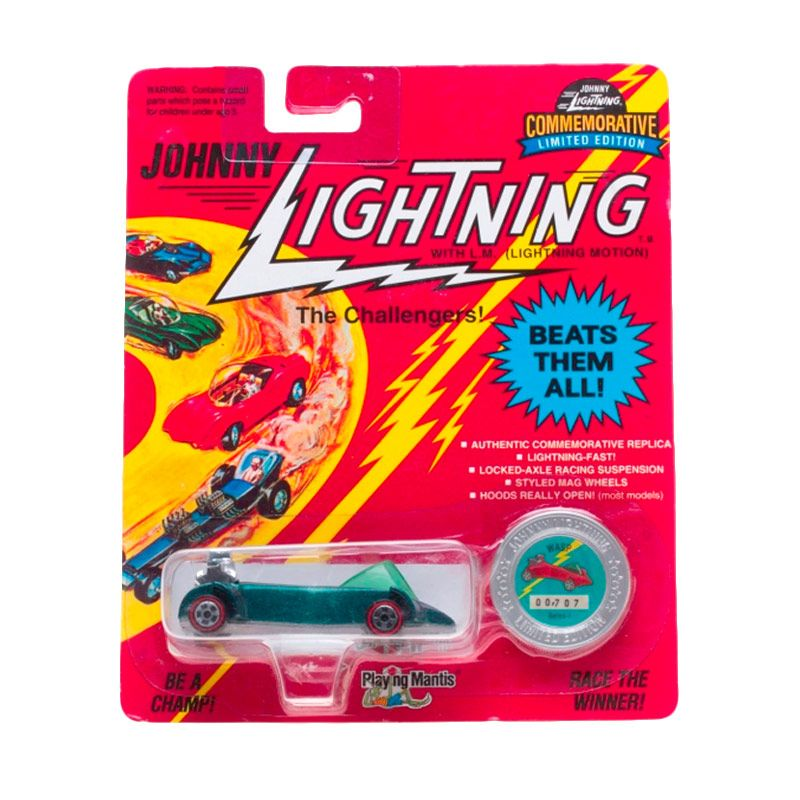 Johnny Lightning Commemorative Limited Edition Series I WASP Green Diecast