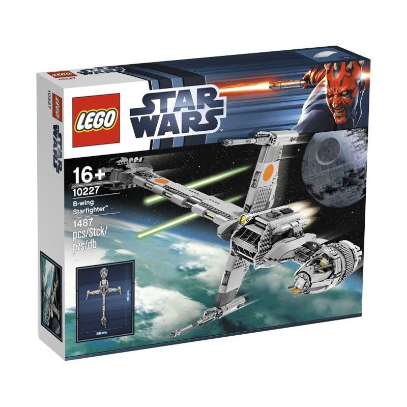 LEGO B-Wing Starfighter 10227 Mainan Blok