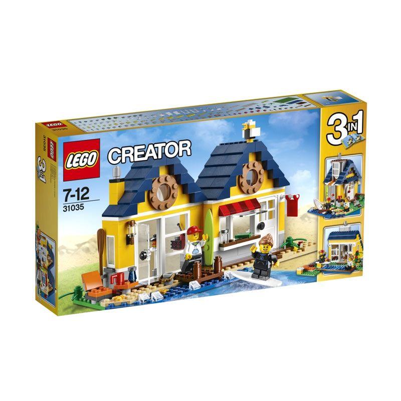 LEGO Beach Hut 31035 Mainan Blok Dan Puzzle