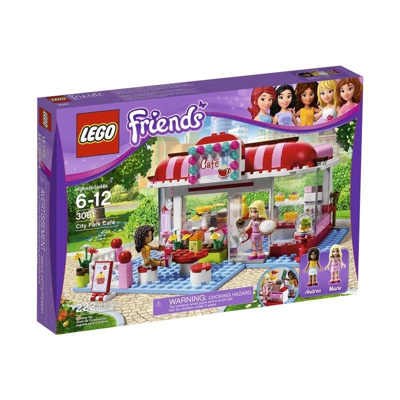 LEGO City Park Cafe 3061 Mainan Blok & Puzzle