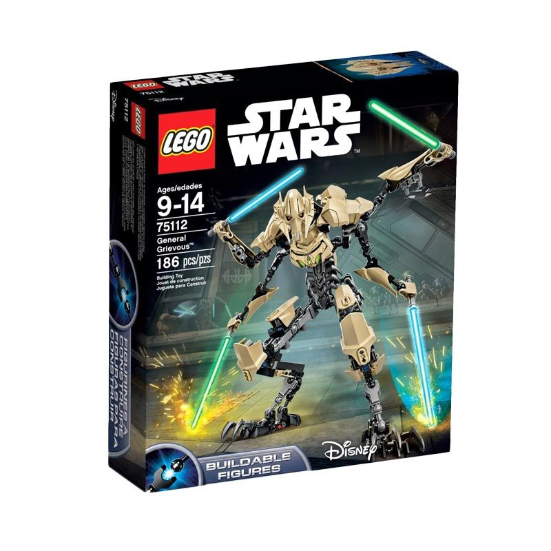 LEGO General Grievous 75112 Mainan Blok & Puzzle