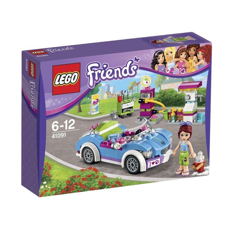LEGO Mias Roadster 41091 Mainan Blok & Puzzle
