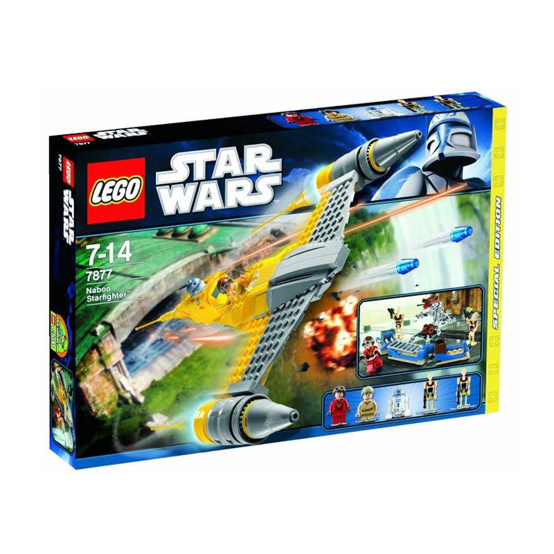 LEGO Naboo Starfighter 7877 Mainan Blok