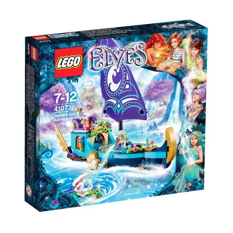 LEGO Naida's Epic Adventure Ship 41073 Mainan Blok dan Puzzle
