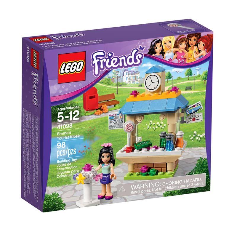 LEGO Tourist Kiosk 41098 Mainan Blok & Puzzle
