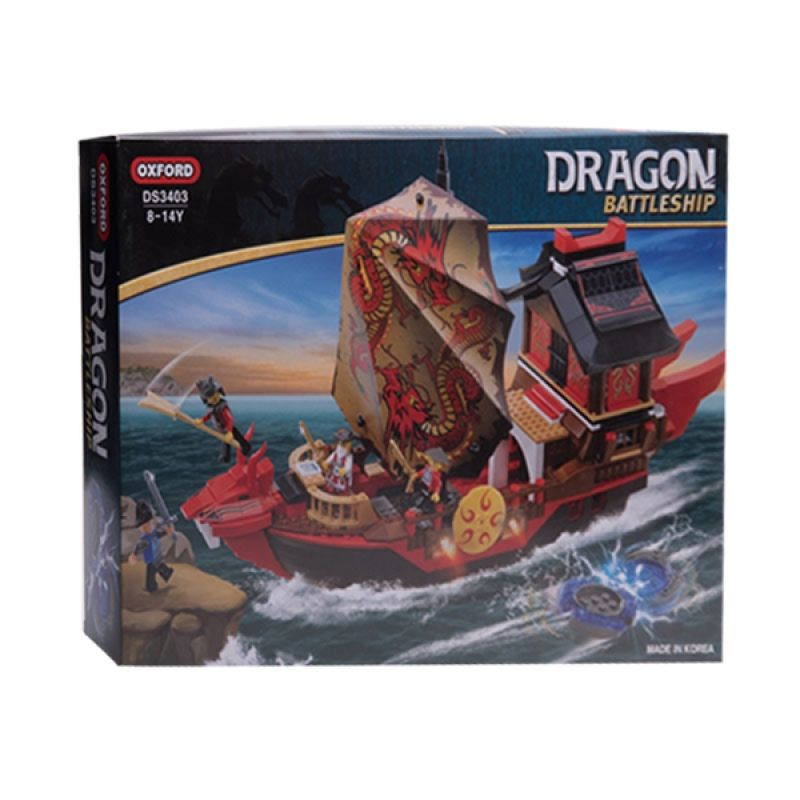 Oxford Red Draginship DS3403 Mainan Blok dan Puzzle