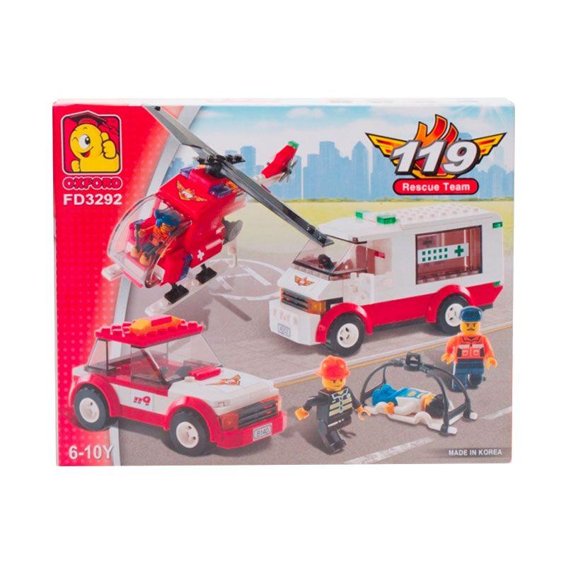 Oxford 119 Rescue Team FD3292 Mainan Blok