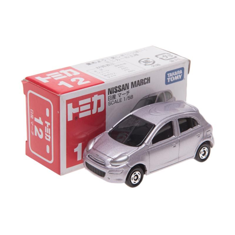 Tomica 12 Nissan March Diecast