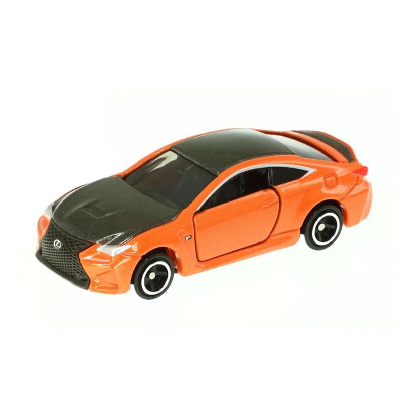 Tomica 13 Lexus RC F Black Orange Diecast