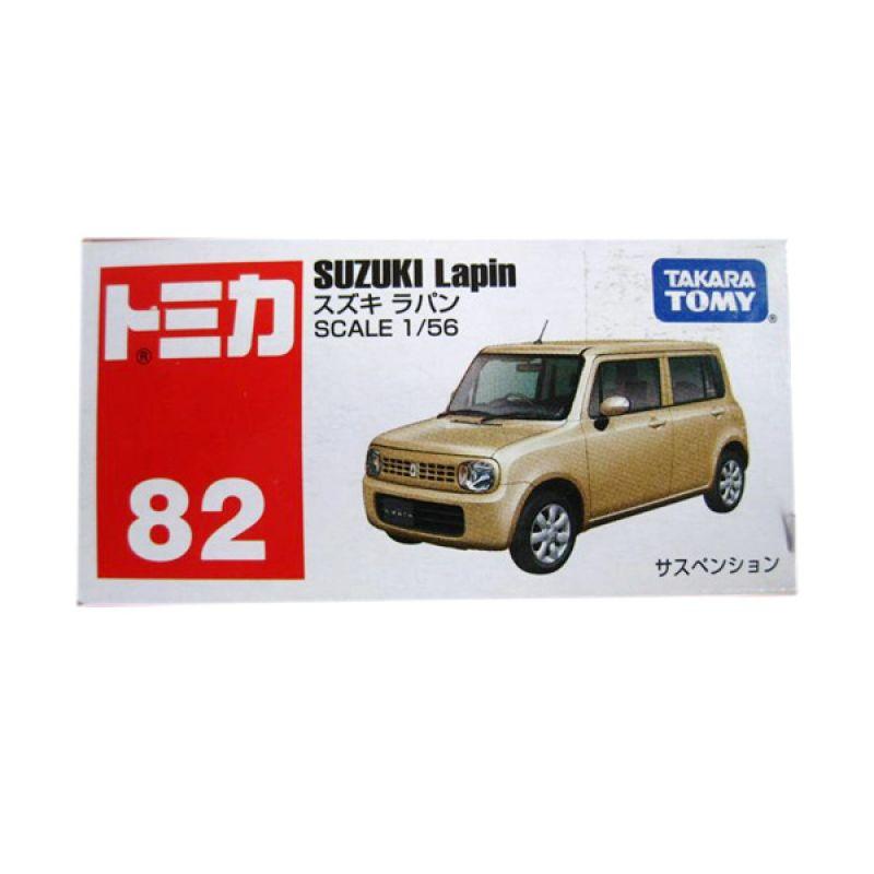 Tomica 82 Suzuki Lapin Cream Diecast