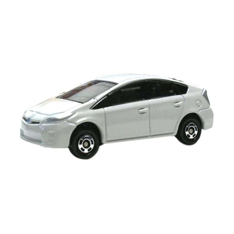 Tomica 89 Toyota Prius White Diecast