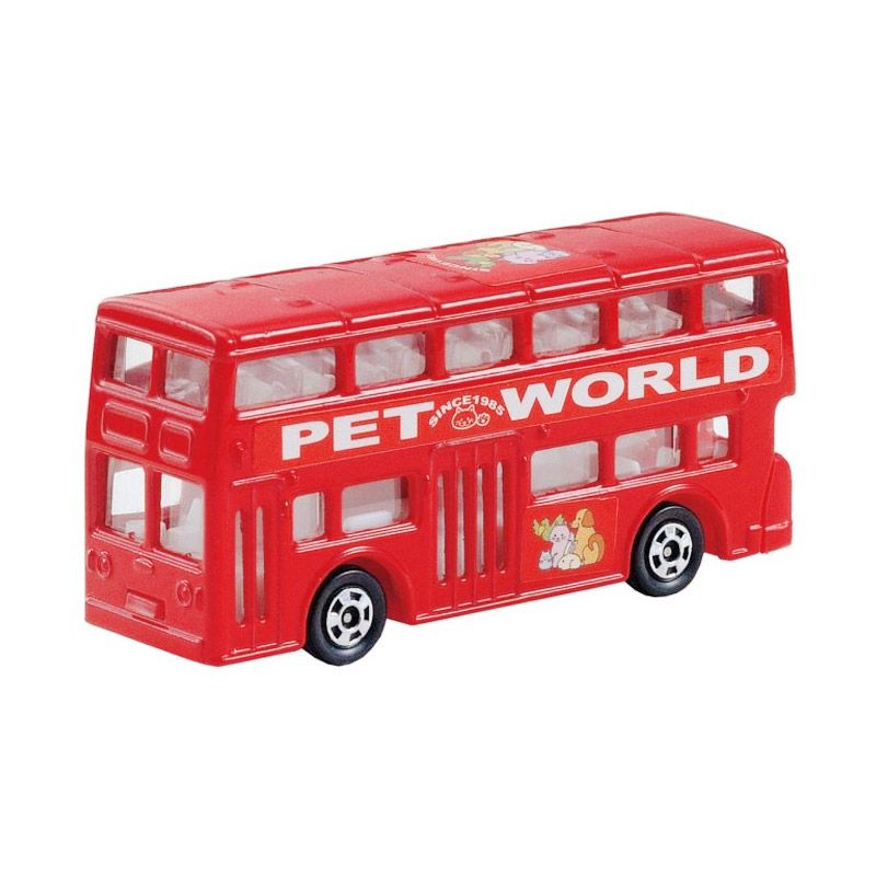 Tomica 95 London Bus Red Diecast