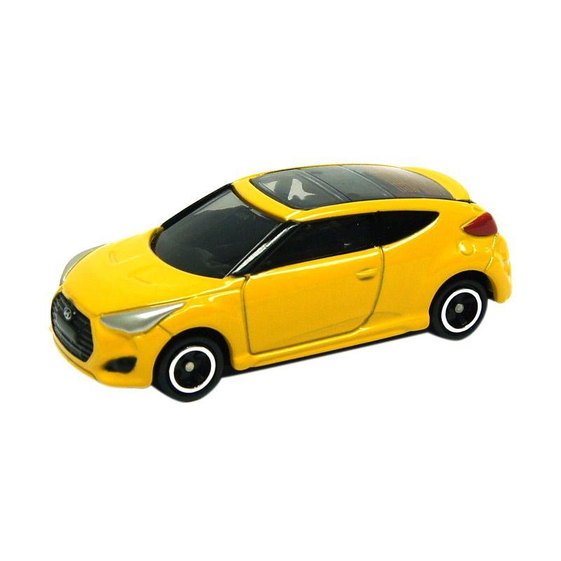 Tomica KR-02 Hyundai Veloster Turbo Yellow Diecast
