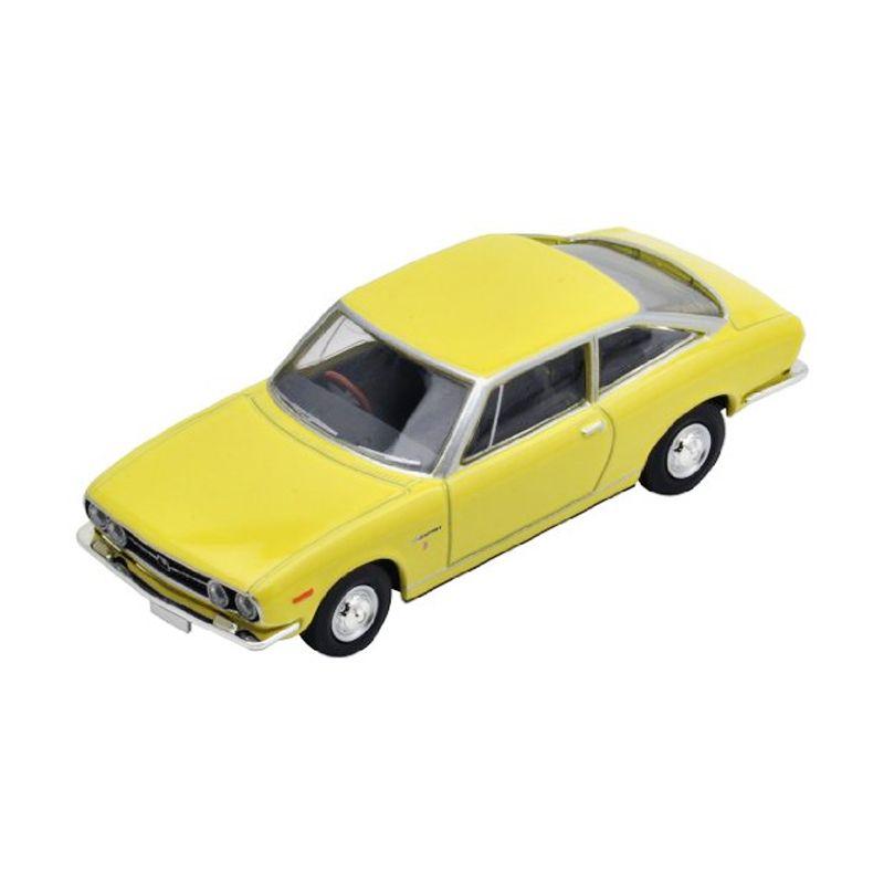 Tomica LV-145b 117 Isuzu Coupe Yellow Diecast