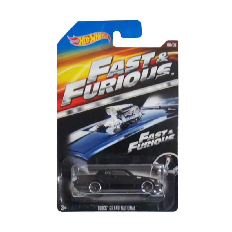 Hotwheels Fast & The Furious Buick Grand National Diecast [1:64]