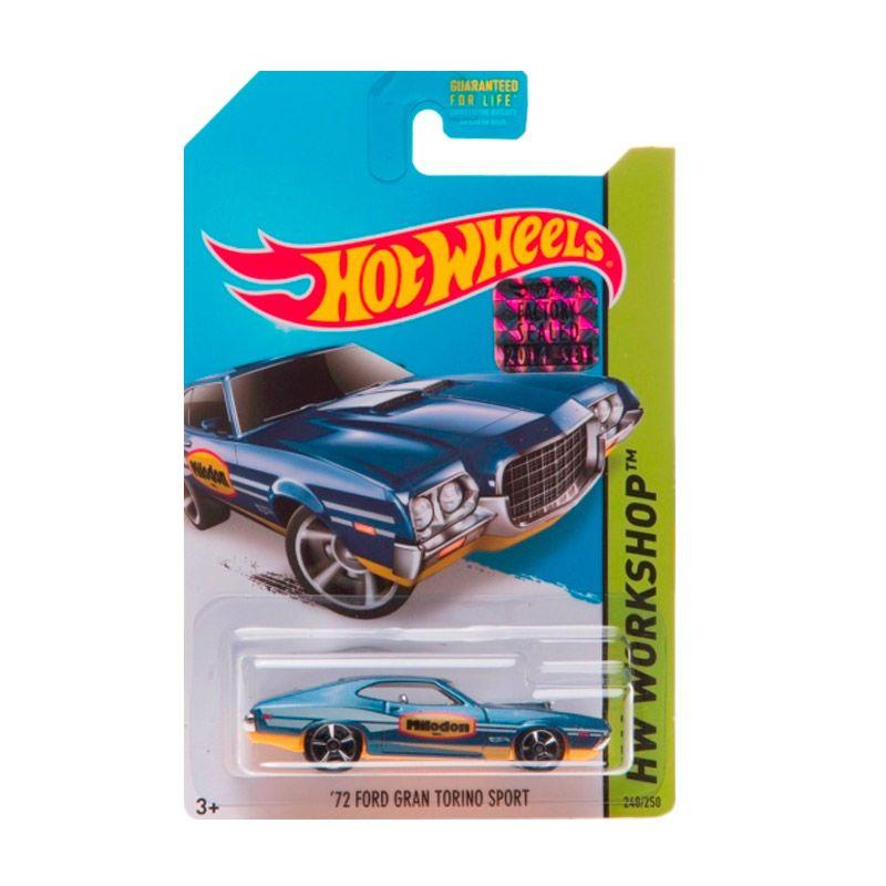 harga Hotwheels Factory Sealed 72 Ford Gran Torino Sport Dark Blue Diecast Blibli.com