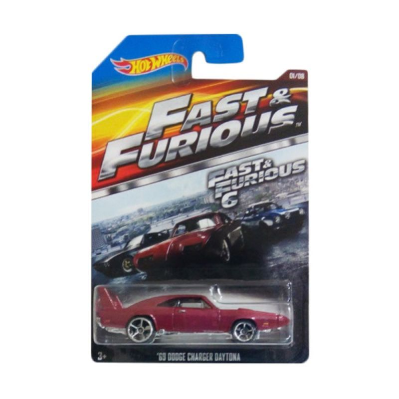 Hotwheels Fast & The Furious Dodge Charger Daytona 1969 Diecast [1:64]