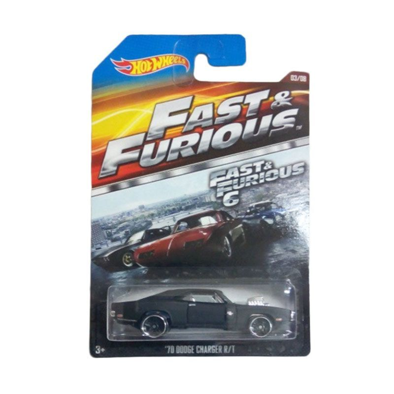Hotwheels Fast & The Furious Dodge Charger RT 1970 Diecast [1:64]