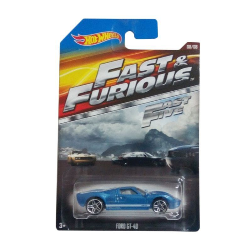 Hotwheels Fast & The Furious Ford GT-40 Diecast [1:64]