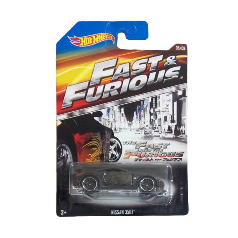 Hotwheels Fast & The Furious Nissan 350Z Diecast [1:64]