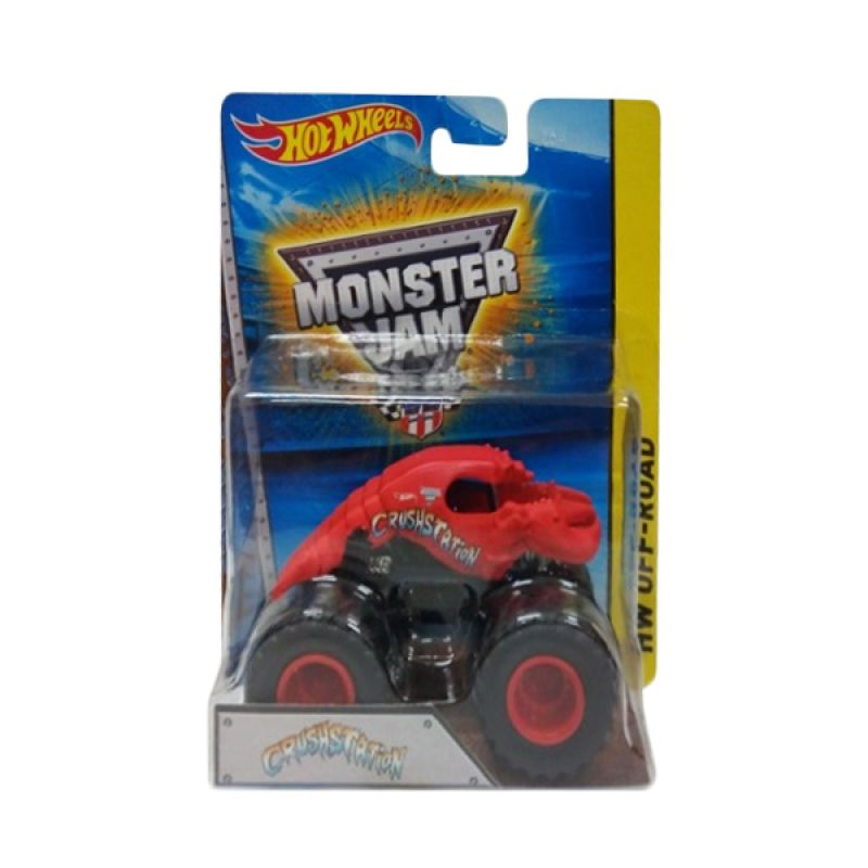 Hotwheels Monster Jam Crushstation Diecast [1:64]