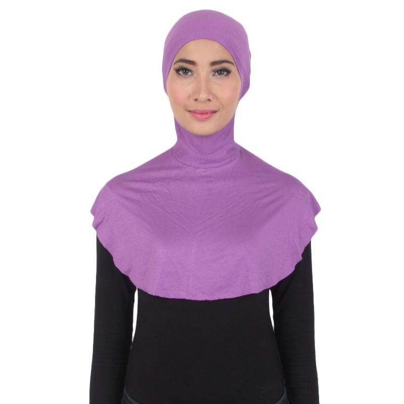 House of Deyna Inner Kerudung Tali Full Covered Purple