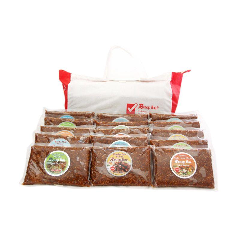 Resep Ibu Mix SP & P Besar Bumbu Masak [Paket 3]