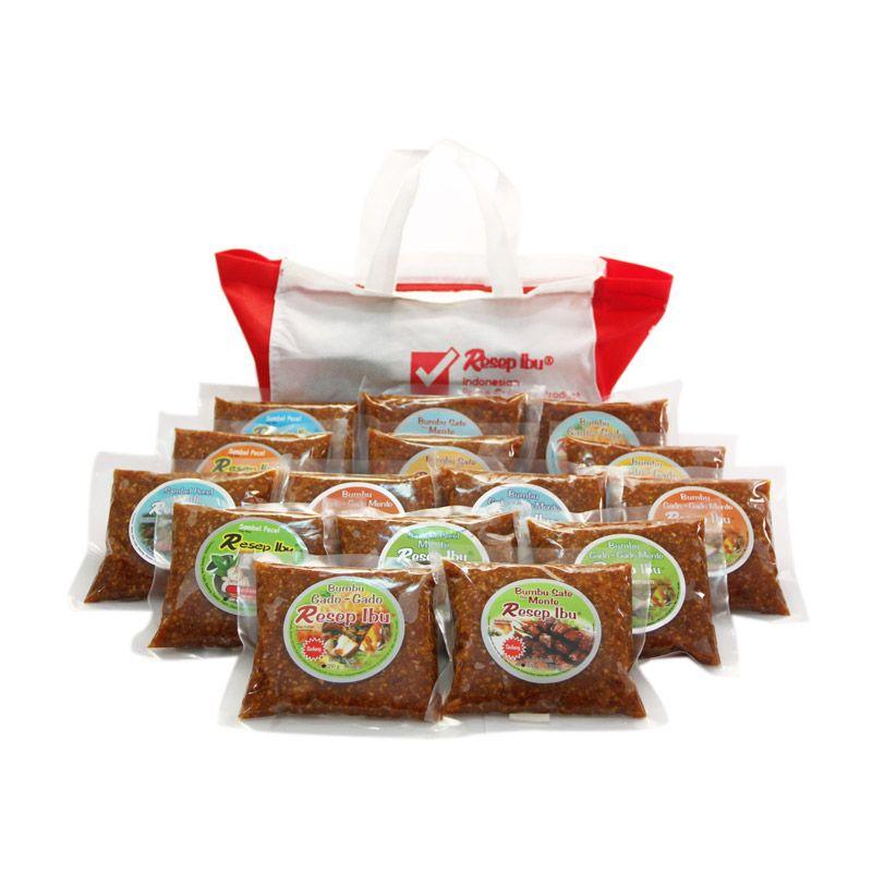 Resep Ibu Mix SP & P Kecil Bumbu Masak [Paket 3]