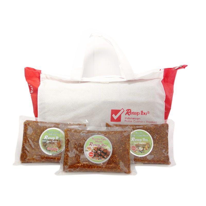 Resep Ibu Super Premium Besar Bumbu Masak [Paket 1]