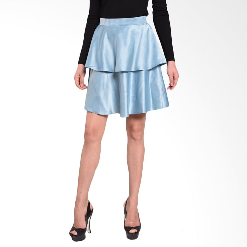 Ussy House of Collection Iris Light Blue Skirt