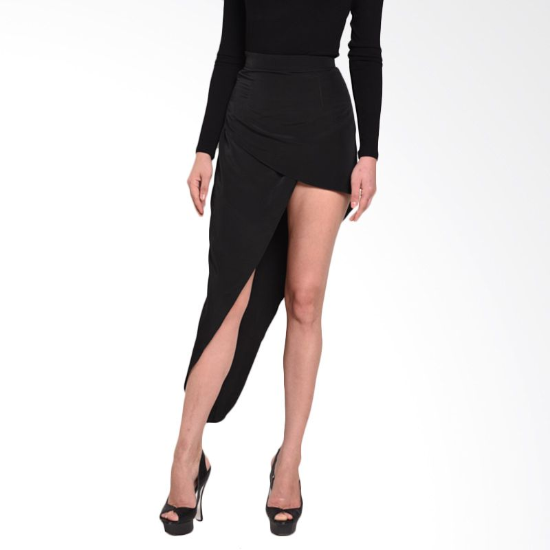 Ussy House of Collection Queeny Hitam Skirt