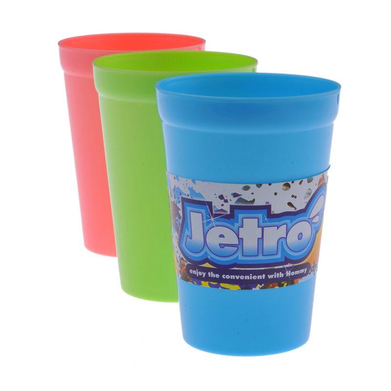 Hommy Jetro Multicolor Gelas [320 mL/12 Pcs]
