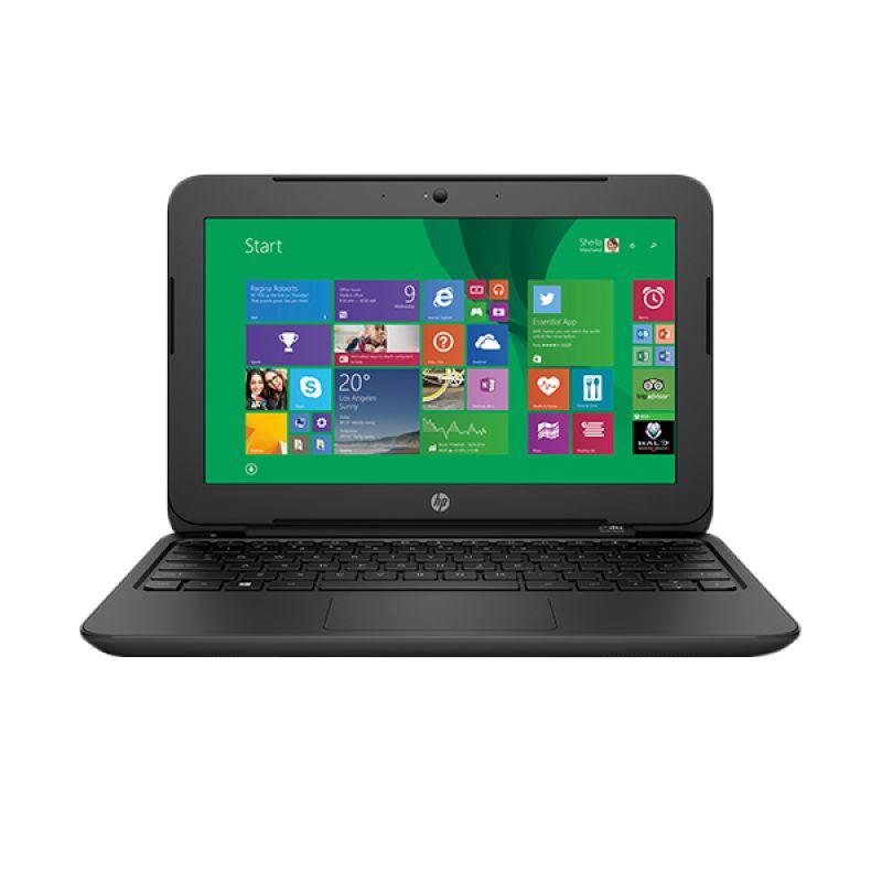HP 11-F004 Black Notebook [Intel N3050/11.6 Inch]