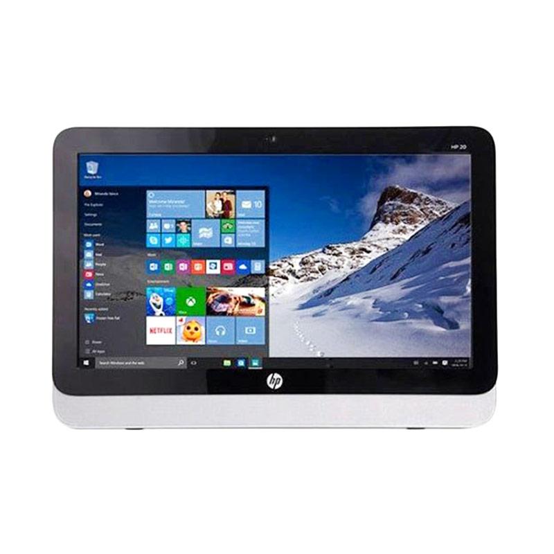 HP 20-R121D AIO Desktop PC [2 GB/Intel Ci3/19.45Inch] - Hitam